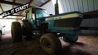 We Bought an old abandoned Tractor for $700 - First Start in Years
