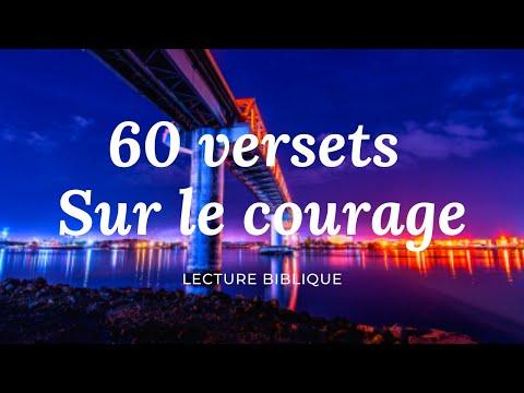 60 VERSETS SUR LE COURAGE — IL TE REND CAPABLE | Canal d'Encouragement by Prisca