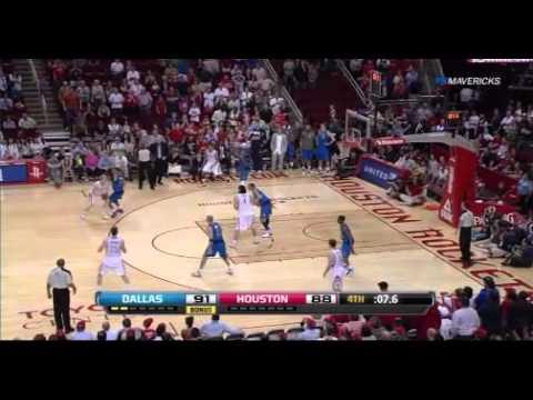 Chandler Parsons hits game tying three vs Dallas Mavericks