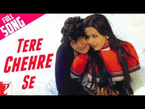 Tere Chehre Se - Full Song - Kabhi Kabhie
