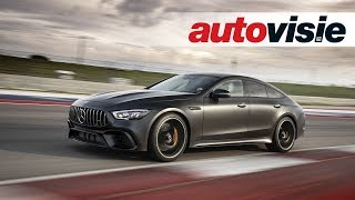 Mercedes-AMG GT 63 S 4-Door Coupé (2018) - Test - Autovisie Vlog