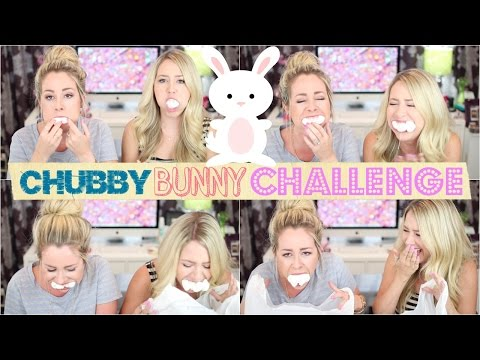 HILARIOUS Chubby Bunny Challenge 🐰