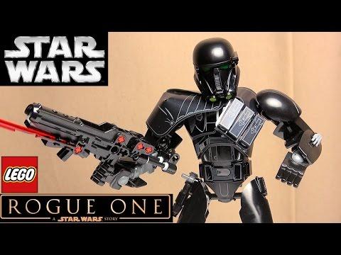 LEGO Star Wars 75121 Имперский штурмовик смерти. Обзор фигурки Лего Звёздные войны Изгой-Один