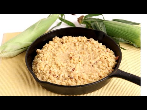 Homemade Creamed Corn Recipe - Laura Vitale - Laura in the Kitchen Episode 795