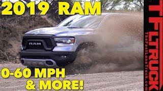 2019 Ram 1500: Complete 0-60 MPH, Towing, & Off-Road Review