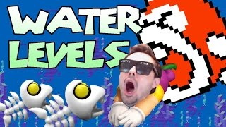 "Mario Maker - BRUTAL Underwater Level ""Master and Commander"" by Barbarian (Losing My Mind)"