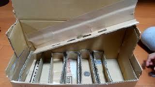 コインソーター DIY Coin Sorting Machine from Cardboard