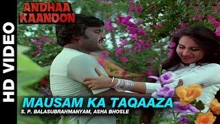 Mausam Ka Taqaaza Andha Kanoon S P Balasubrahmanyam Asha Bhosle Rajinikanth Hema Malini