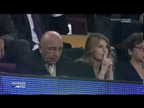 Barbara Berlusconi and Adriano Galliani