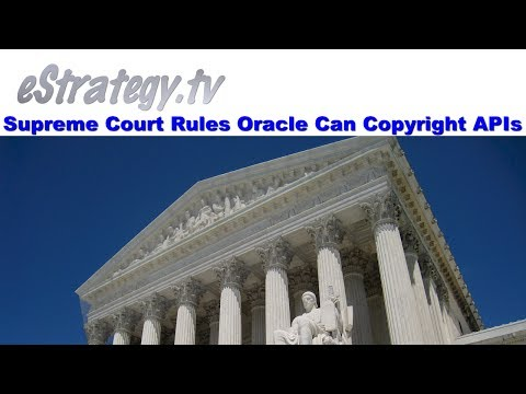 Appeals Court Rules Oracle Can Copyright APIs