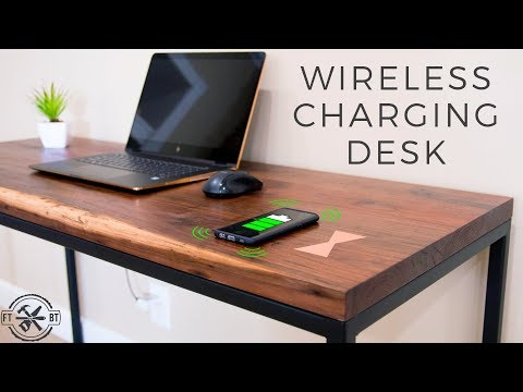 How to Make a Desk with Hidden Wireless Charging