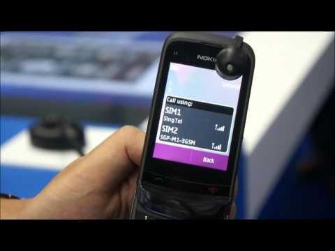 CommunicAsia'11: Nokia C2-03 Demo @ Nokia Connection 2011