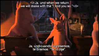 THE PIG WHO CRIED WOLF (subtitles english)