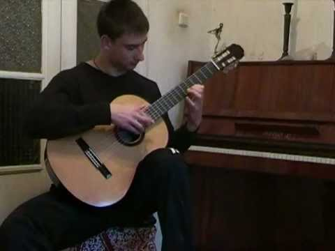 Teodor Grozdanov plays Julia Florida by Barrios