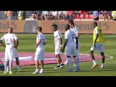 Olivier Giroud ● Dimtri Payet ● Albanie vs France 2015