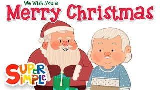 We Wish You A Merry Christmas | Super Simple Songs