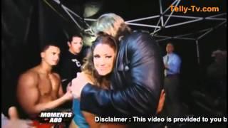 WWE Raw 4 11 11 - Edge Retires - Backstage Moment