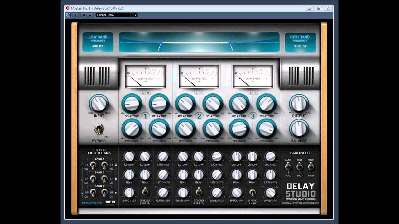 how to add dampness to delay plugin