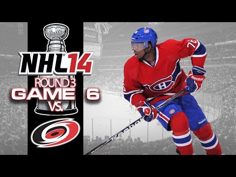 Let's Play NHL 14 - Round 3 Game 6 vs Carolina Hurricanes