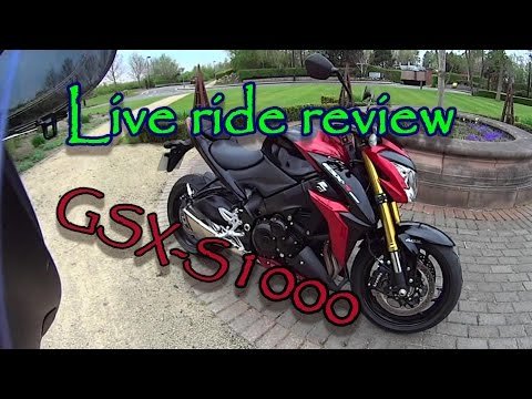 First 'Live Ride' Review Of The 2015 Suzuki GSX-S1000
