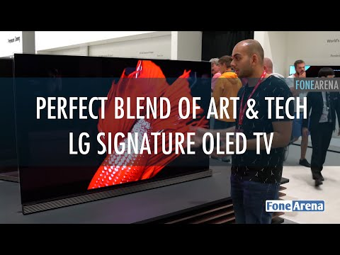 Perfect Blend of Art and Technology - LG Signature 4K OLED TV