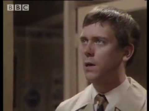 Funny Hugh Laurie & Stephen Fry comedy sketch!  Your name, sir?  - BBC