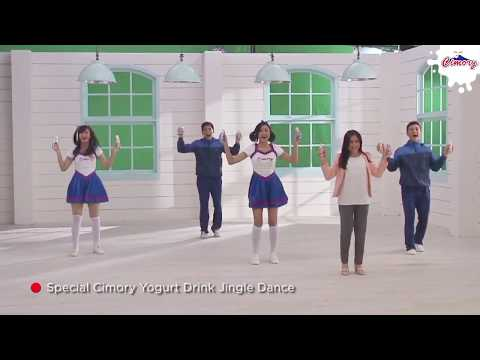 Video Clip Prilly Dance di Iklan Cimory  (Special Cimory Yogurt Drink Jingle Dance)