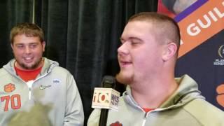 TigerNet.com - Jay Guillermo - Fiesta Bowl Media Day 2