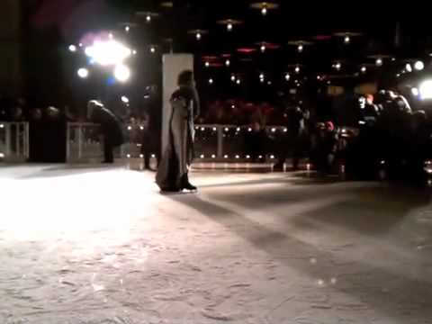 Johnny Weir closes Elise Øverland s A/W 2011 presentation