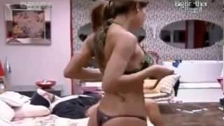 Big brother Brasil Very Hot Girl Changing Her Cloths