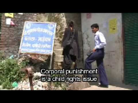 Young journalist investigates corporal punishment