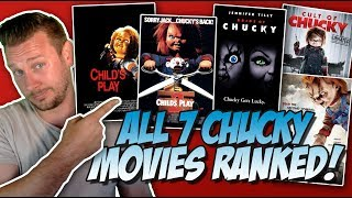 All 7 Chucky Movies Ranked Worst to Best (w/ Cult of Chucky Review)