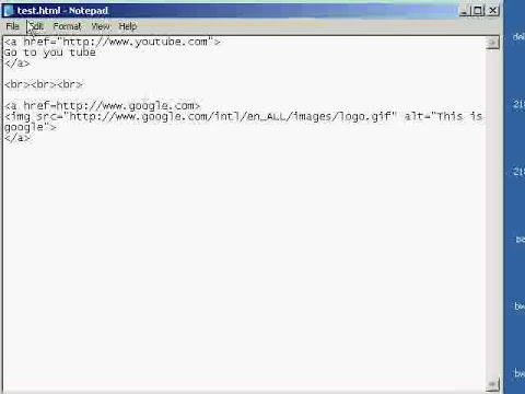 How to make a hyperlink (clickable link or image) in html