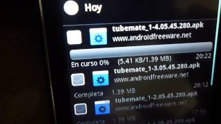 como descargar videos de youtube desde el celular con tube mate