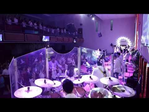 Yesus Kristus Tuhan medley Thank you Jesus - Filadelfia all star - Easter Drummer view
