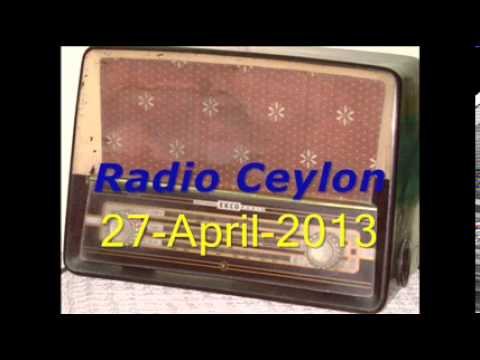 Purani Filmon Ka Sangeet~Radio Ceylon 27-04-2013~Morning~Part-1