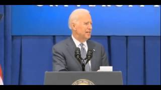 Power Psychopath Biden Shouts Out To Old Butt Buddy In Iowa-Then Makes Motion of Holding Butt Cheeks