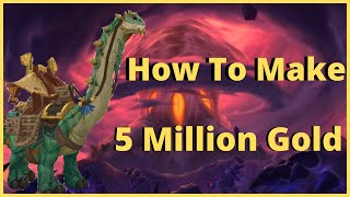 How To Make 5 Million Gold | Brutosaur Mount Guide