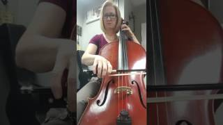 St. Paul Suite Jig-cello page 1 only