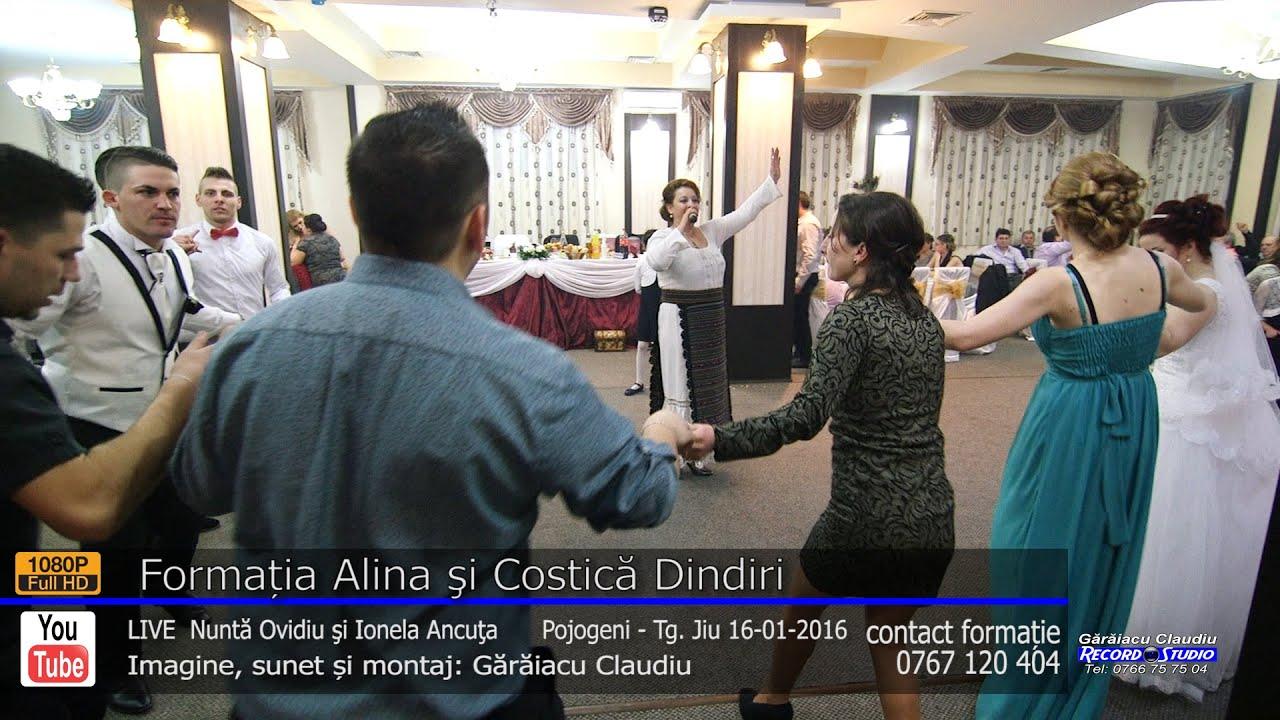 Formatia Alina si Costica Dindiri | Colaj HORA part.2 LIVE | Nunta Ovidiu si Ionela Ancuta