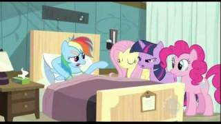 Rainbow Dash - Reading is for eggheads.