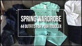 How To Style Your Toddler Boy | Spring Capsule Wardrobe | Children's Place Haul 2018