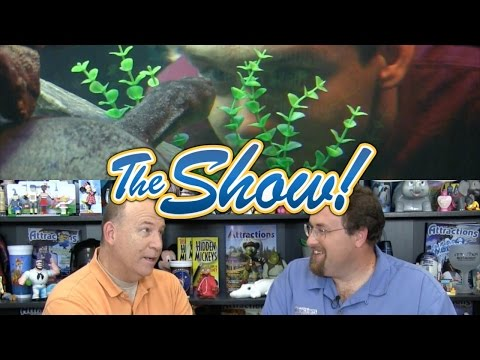 Attractions - The Show - Turtles at Sea Life; Imagineer interview; latest news - April 28, 2016