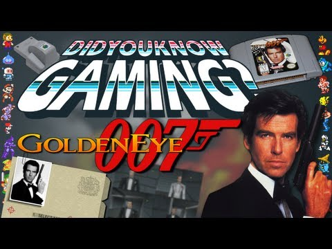 Goldeneye 007 (N64) - Did You Know Gaming? Feat. Brutalmoose