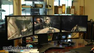 Metro 2033_ NVIDIA GTX 590 Triple Monitor Surround Gaming