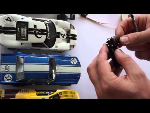 Replacing guide braids on Slotcars - Slotcar Ltd.  New Zealand