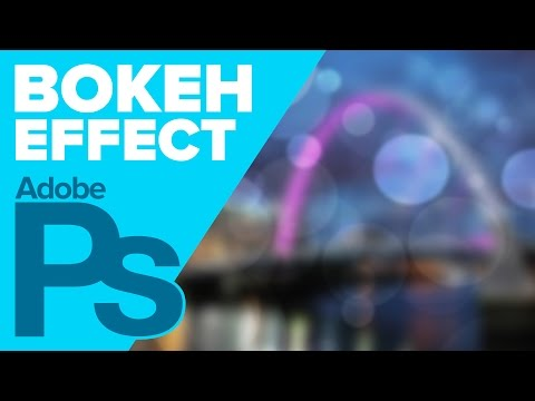Create a BOKEH Effect in Photoshop!   IceflowStudios