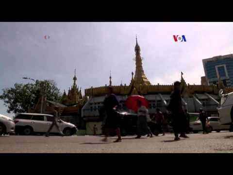 Abrumadora victoria de partido demócrata en Myanmar