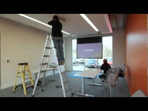 Hitachi Projector - Time Lapse Installation