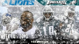 The Blizzard Bowl! (Lions vs. Eagles 2013, Week 14)